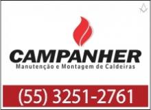B4 RS Campanher Manutenção de Montagem de Caldeiras - Santiago - RS