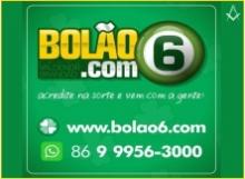 B4 PI BOLÃO 6 - LOTERIA - APOSTAS - PIRACURUCA - PI