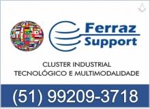 B4 RS FERRAZ SUPPORT - CLUSTER  INDUSTRIAL TECNOLÓGICO E MULTIMODALIDADE - PELOTAS