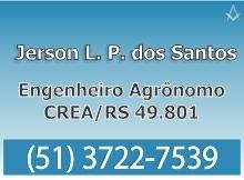 B4 RS Jerson Santos - Engenheiro Agrônomo - Cachoeira do Sul - RS