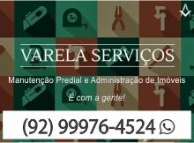 Varela Serviços - Manutenção Predial - Administração de Imóveis - Manaus - AM - B4