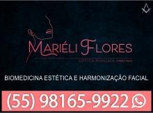 Mariéle Flores - Biomedicina Estética e Harmonização Facial