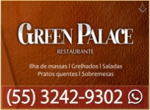 B4 RS Green Palace Restaurante - Santana do Livramento - RS