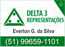 Delta 3 Representações - Bebidas - Alimentos - Art. Limpezas - Cachoeira do Sul - RS