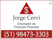 B4 RS Jorge Cervi - Finanças Pessoais - Santa Cruz do Sul - RS