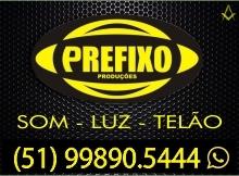 B4 RS Prefixo Produções - Som Luz Imagem Telão - Camaquã - RS