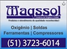 Maqssol - Oxigênio, Soldas, Ferramentas e Compressores - Cachoeira do Sul - RS - BR - B4