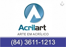 B4 RN Acrilart - Arte em Acrílico - Natal RN