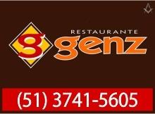 B4 RS Restaurante Genz - Venâncio Aires - RS