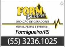 B4 RS Form Eletro - Locação de Geradores - Restinga Sêca - RS