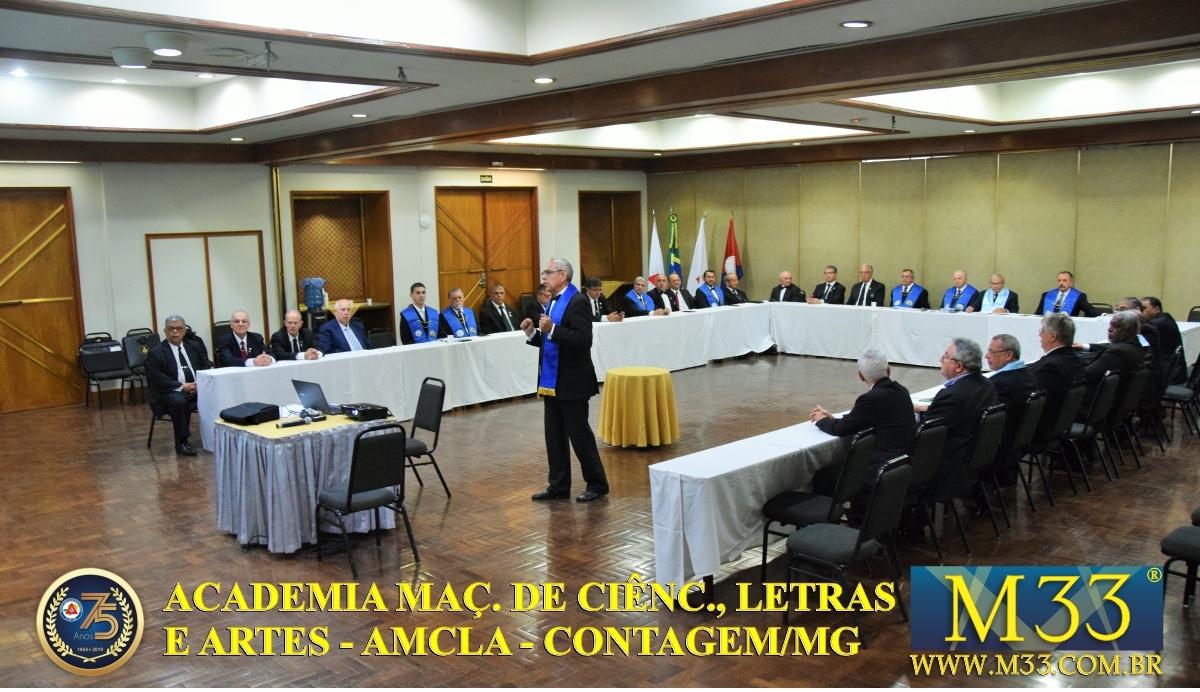 REUNIÃO DA ACADEMIA MAÇÔNICA DE CIÊNCIAS, LETRAS E ARTES - AMCLA EM MINAS GERAIS - SET/2019