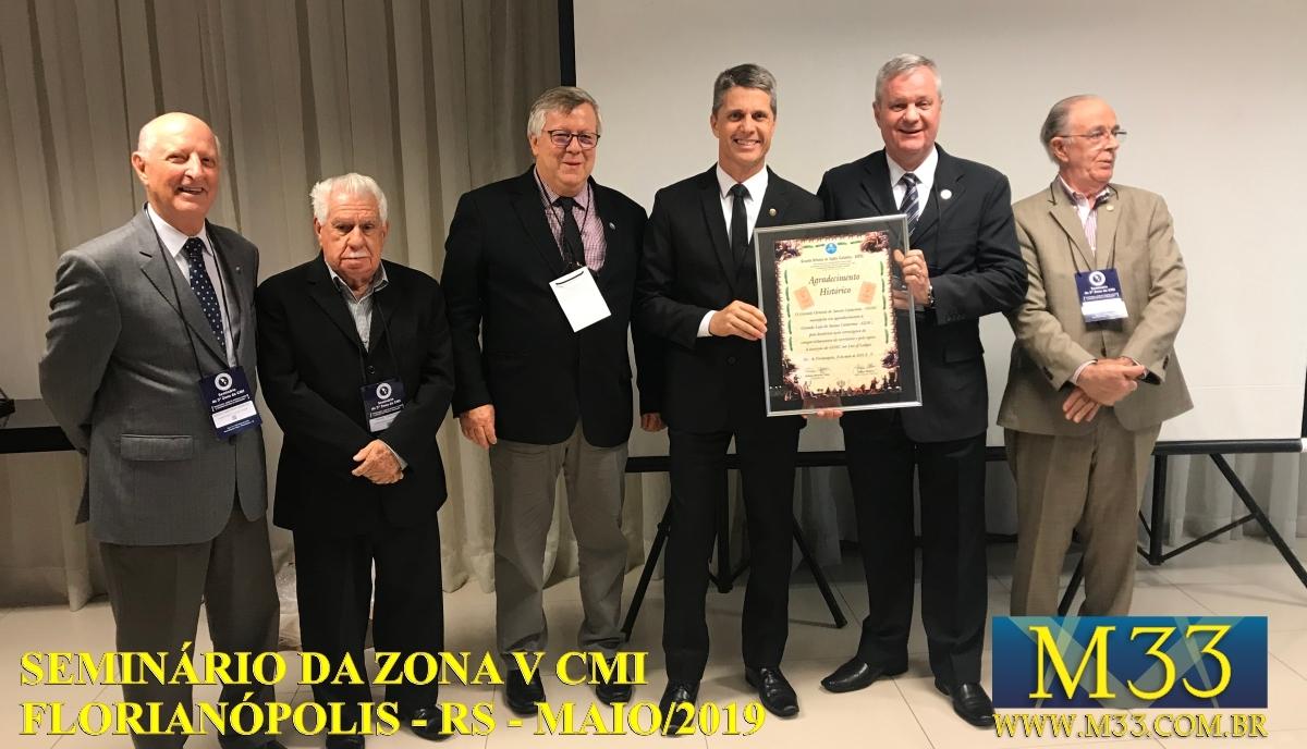 Seminário Zona V CMI - Florianópolis/SC Maio/2019 Parte 6