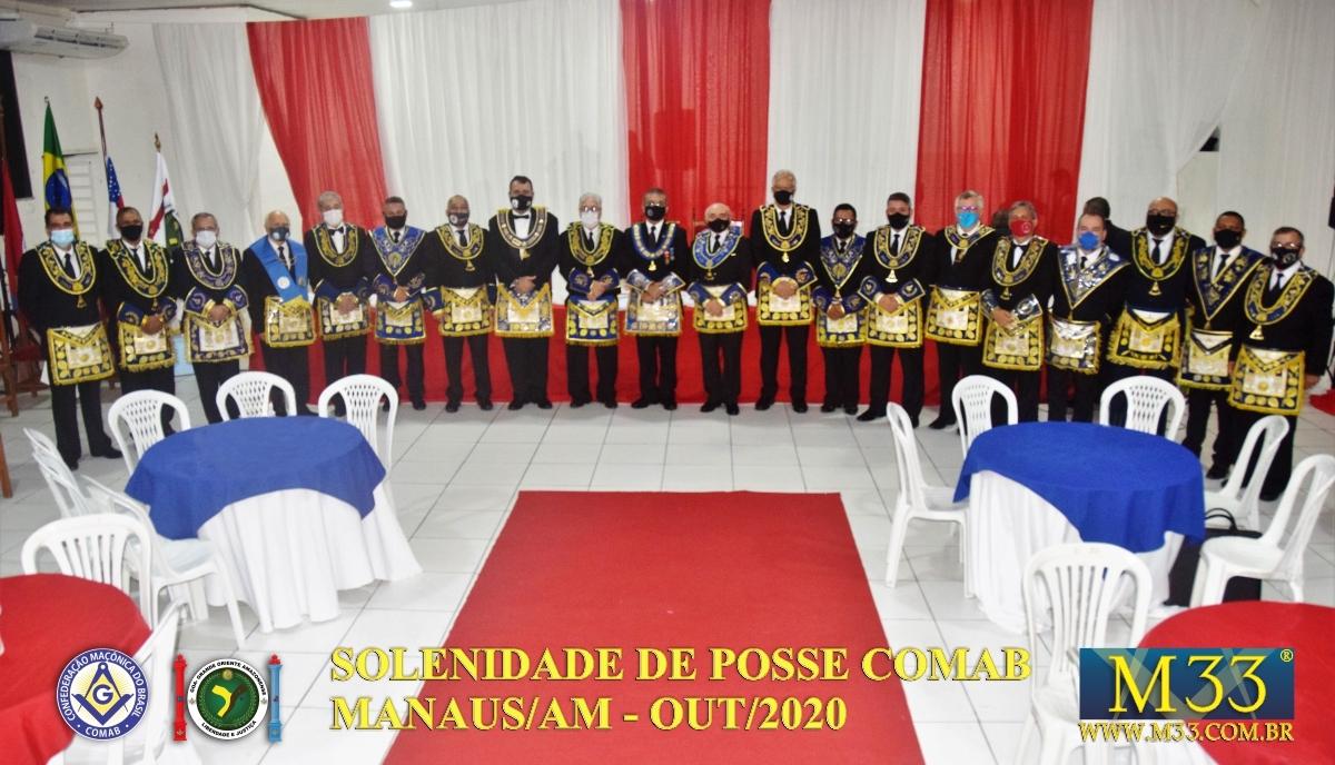 SOLENIDADE DE POSSE COMAB - MANAUS/AM - OUT/2020 PARTE 1