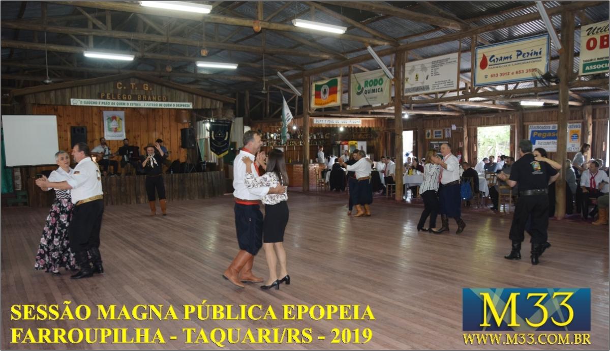 SESSÃO MAGNA PÚBLICA EPOPEIA FARROUPILHA - TAQUARI AGO/2019 PARTE 4