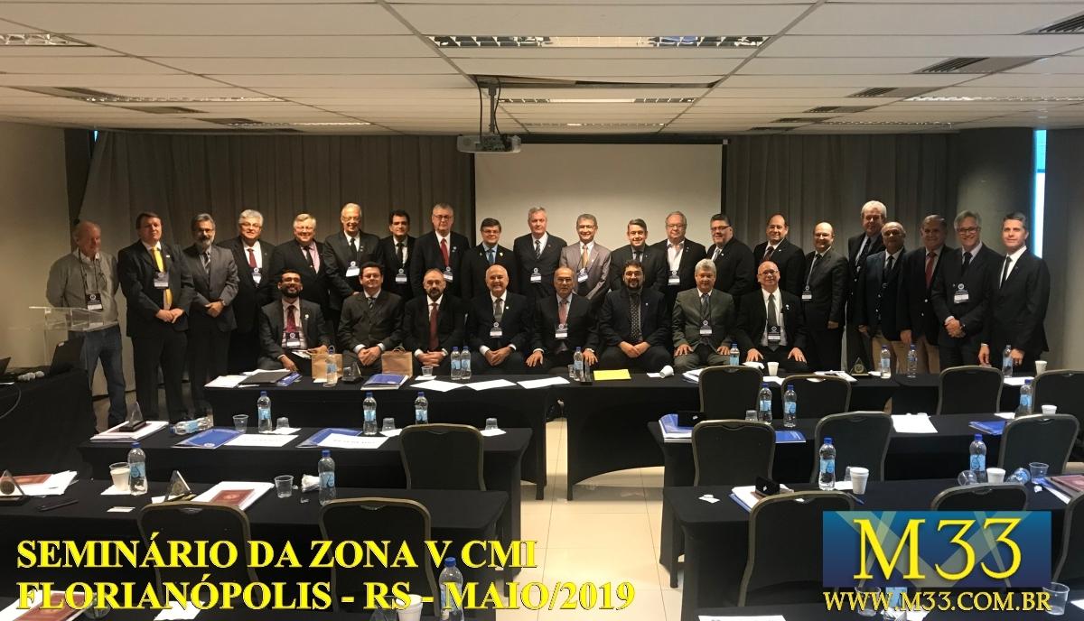 Seminário Zona V CMI - Florianópolis/SC Maio/2019 Parte 2