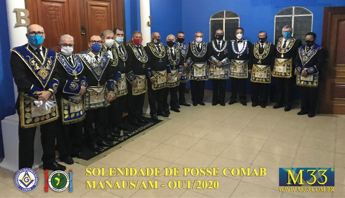 SOLENIDADE DE POSSE COMAB - MANAUS/AM - OUT/2020 PARTE 2