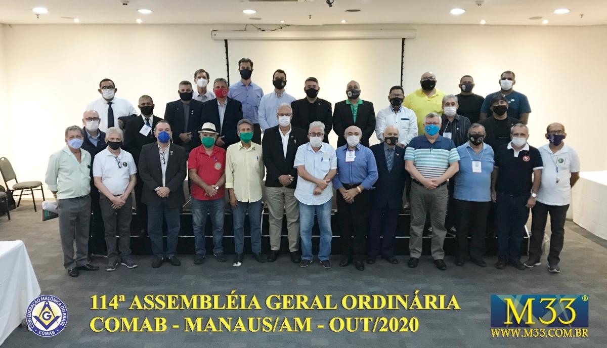 114ª ASSEMBLEIA GERAL ORDINÁRIA COMAB - MANAUS/AM - OUT/2020 PARTE 4