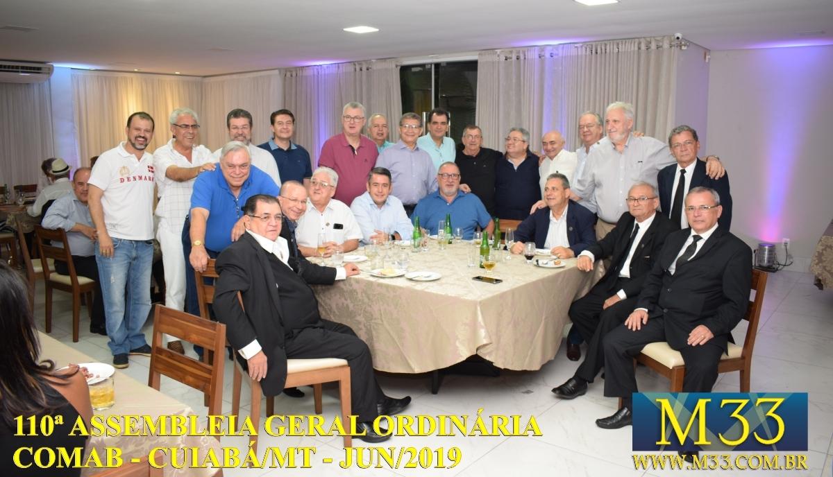 110ª ASSEMBLÉIA GERAL ORDINÁRIA COMAB - CUIABÁ/MT JUN/2019 PARTE 02