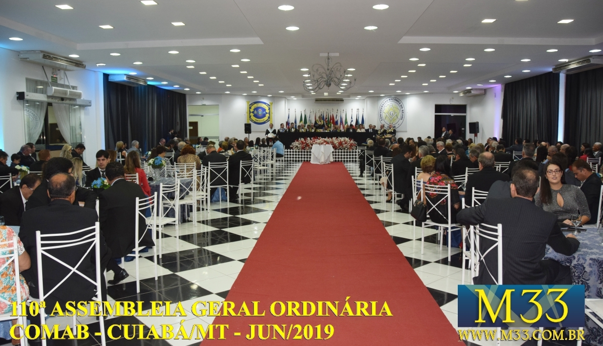 110ª ASSEMBLÉIA GERAL ORDINÁRIA COMAB - CUIABÁ/MT JUN/2019 PARTE 08