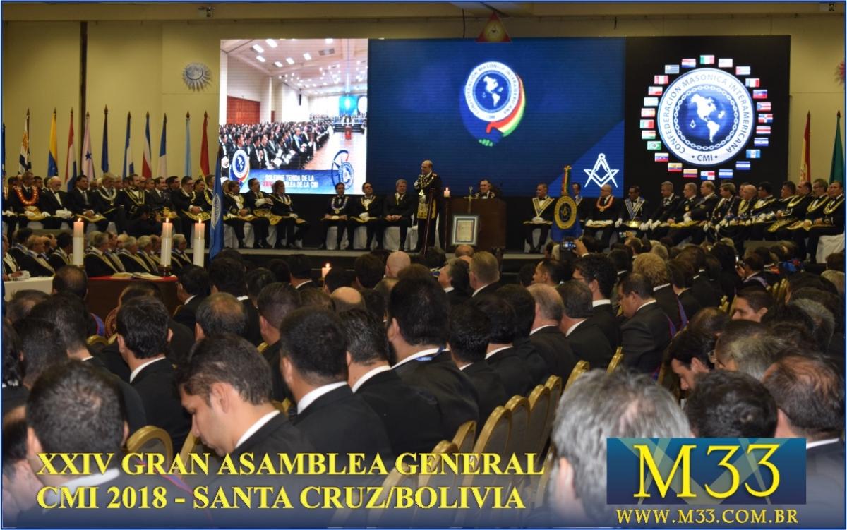 XXIV Gran Asamblea General - Santa Cruz - Bolivia Parte 04