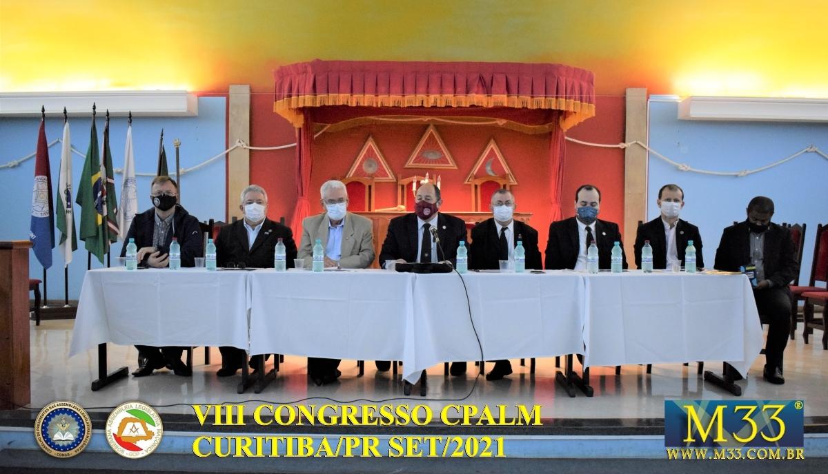 VIII CONGRESSO CPALM - CURITIBA/PR SET/2021 - PARTE 2