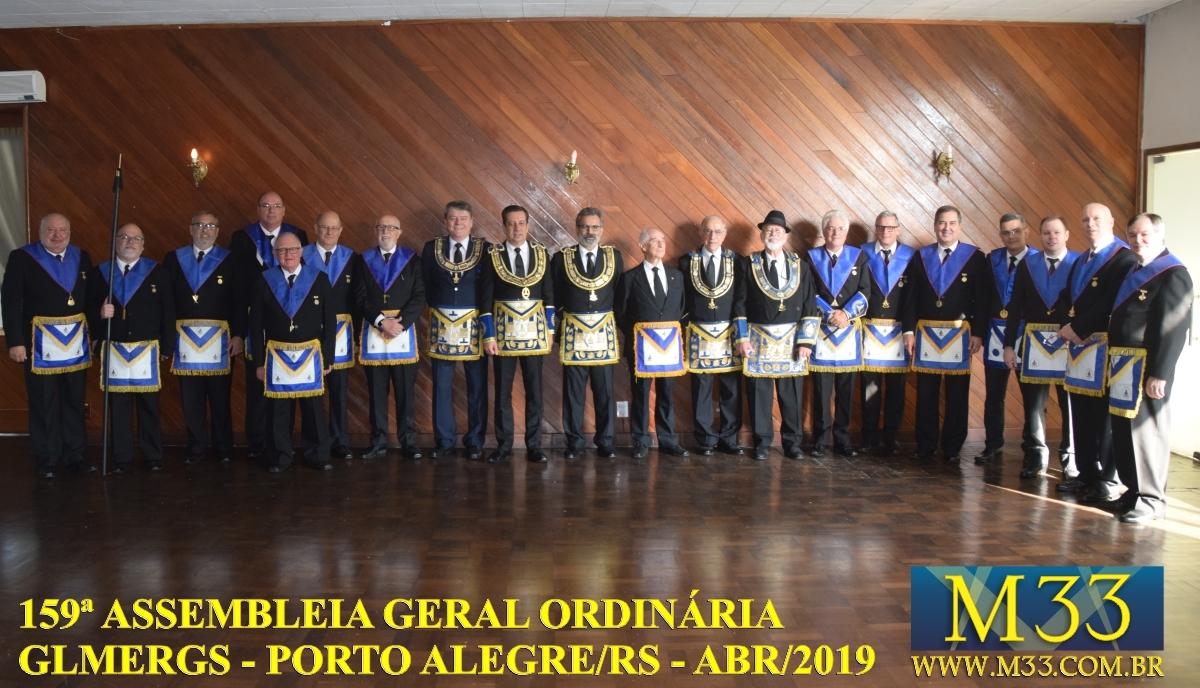 159ª ASSEMBLEIA GERAL ORDINÁRIA GLMERGS - PORTO ALEGRE/RS ABR/2019 PARTE 4
