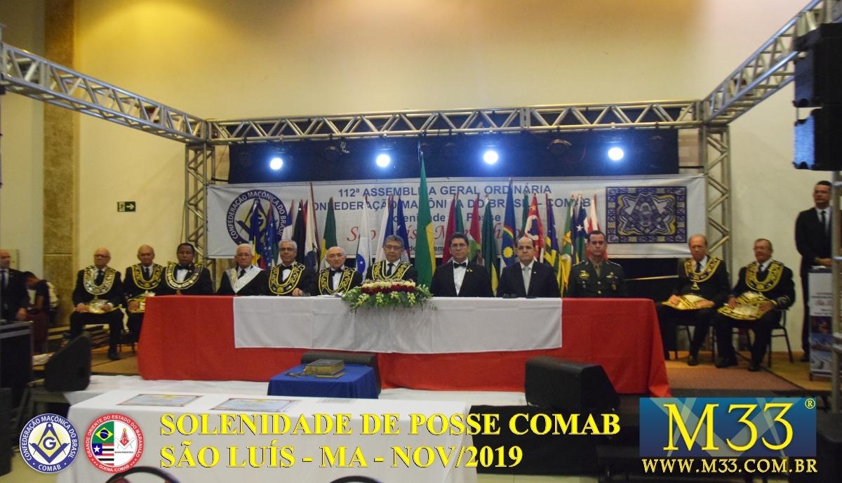 SOLENIDADE DE POSSE COMAB - SÃO LUÍS/MA - NOV/2019 PARTE 3