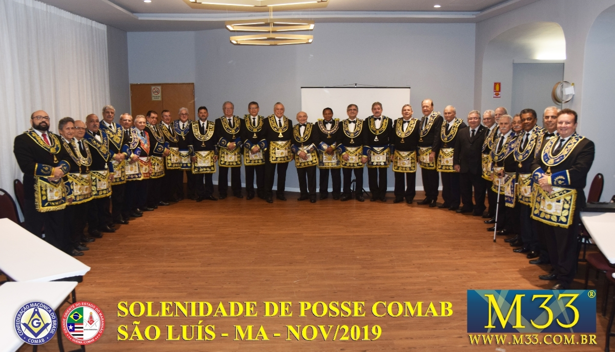 SOLENIDADE DE POSSE COMAB - SÃO LUÍS/MA - NOV/2019 PARTE 1