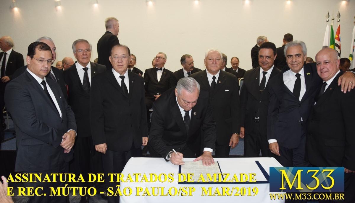 Assinatura de Tratados de Amizade e Reconhecimento Mútuo - São Paulo SP - Março 2019 Part 5