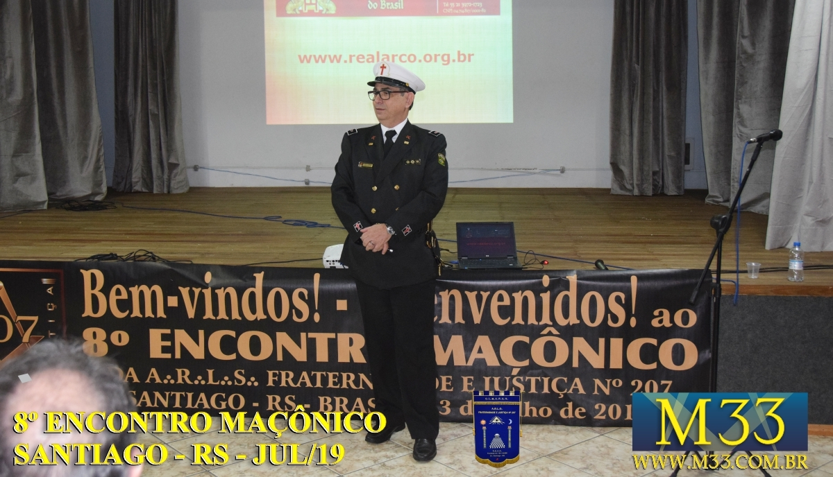 8º ENCONTRO MAÇÔNICO SANTIAGO - RS - JULHO 2019 PARTE 3