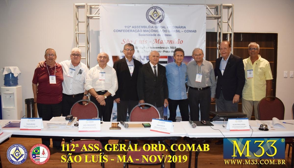 112ª ASSEMBLEIA GERAL ORDINÁRIA COMAB - SÃO LUÍS/MA NOV/2019 PARTE 3