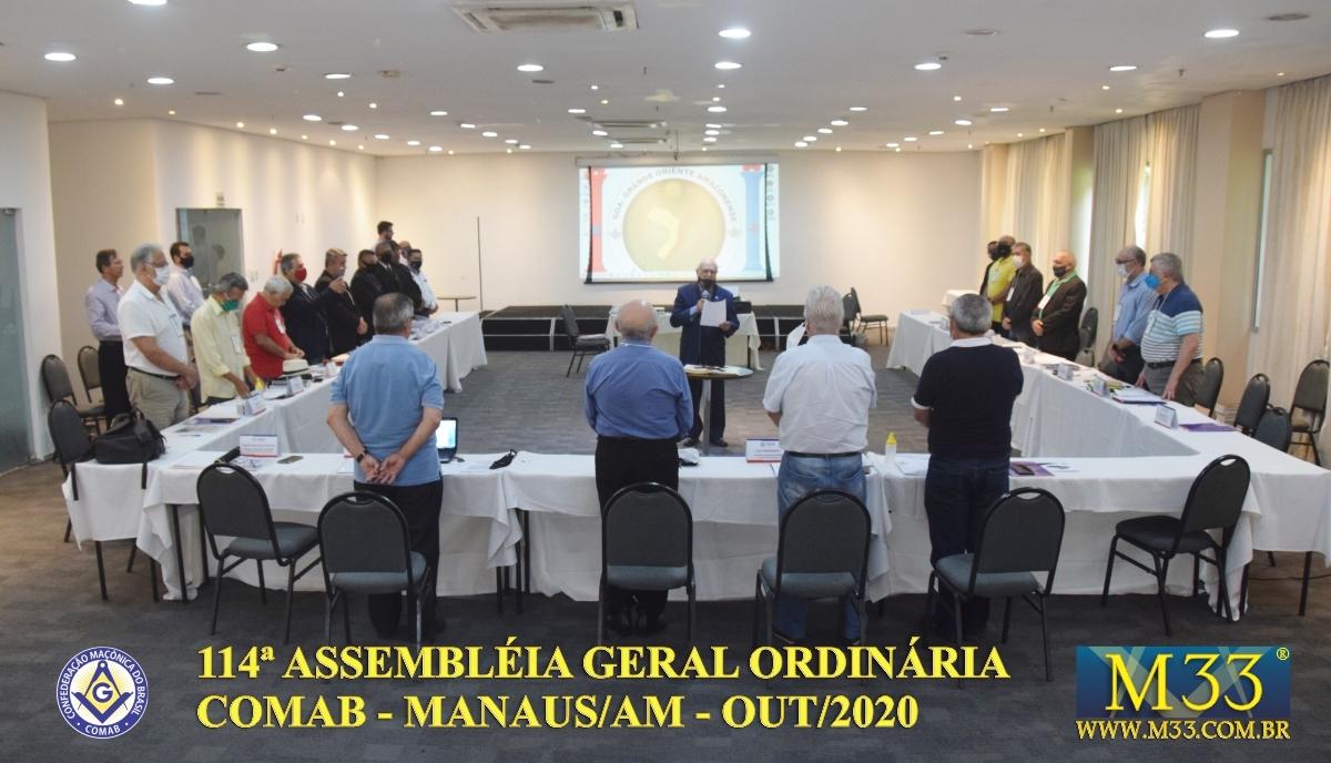 114ª ASSEMBLEIA GERAL ORDINÁRIA COMAB - MANAUS/AM - OUT/2020 PARTE 3