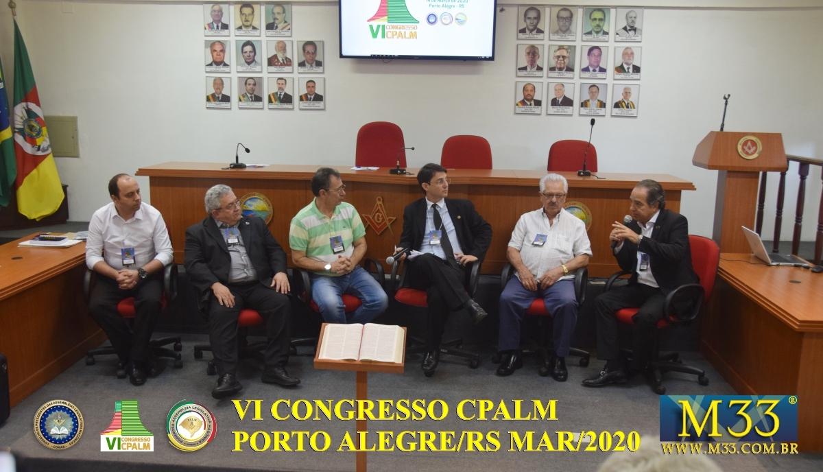 VI Congresso Conselho de Presidentes de Assembleias Legislativas Maçônicas - CPALM (COMAB) Parte 5