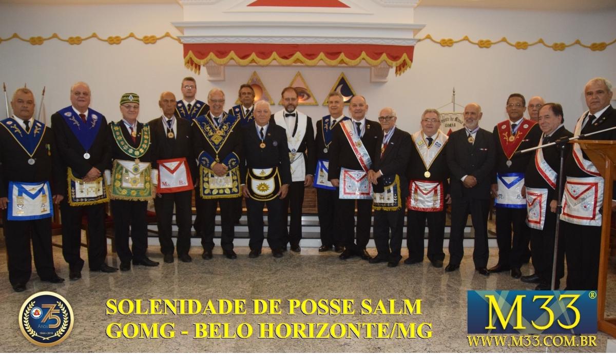 Solenidade de Posse da Soberana Assembléia Maçônica - SALM - GOMG - Belo Horizonte/MG - Set/2019 Parte 03