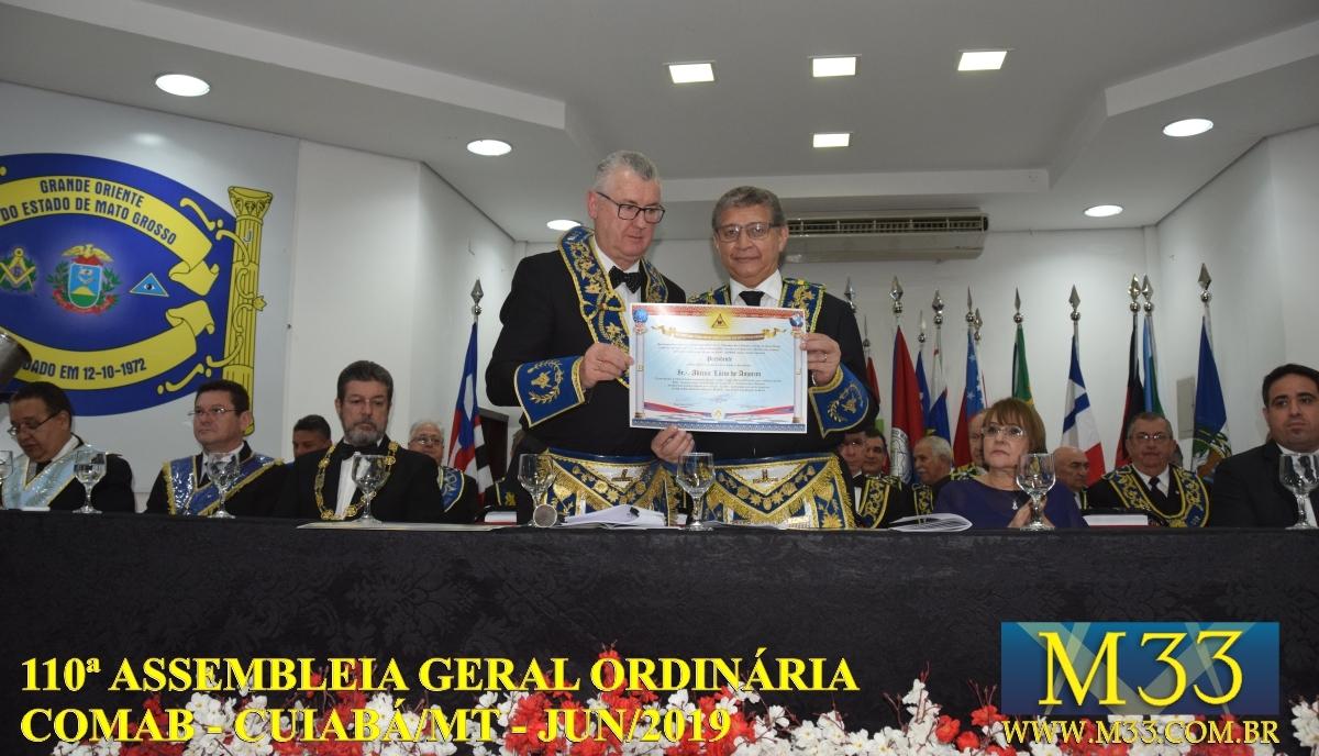 110ª ASSEMBLÉIA GERAL ORDINÁRIA COMAB - CUIABÁ/MT JUN/2019 PARTE 09
