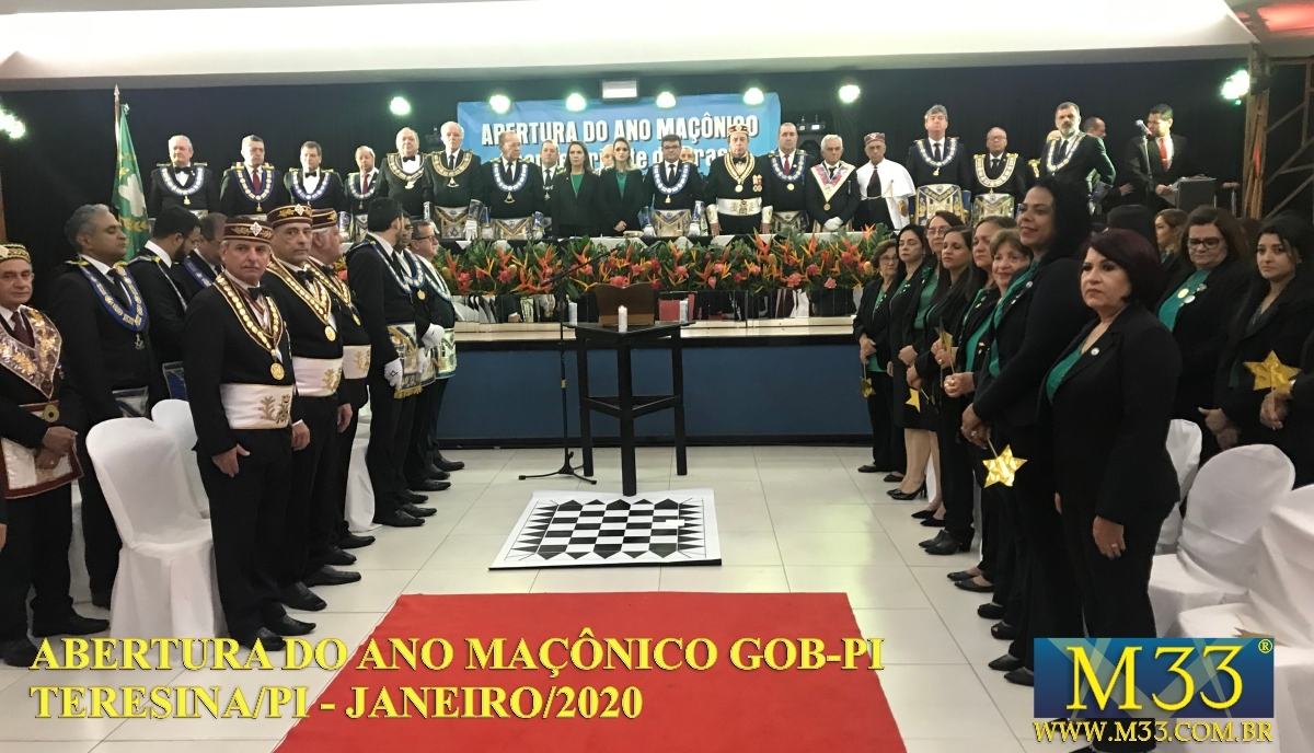 Abertura Ano Maçônico GOB 2020 Teresina/PI  Parte 07