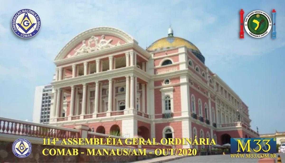 114ª ASSEMBLEIA GERAL ORDINÁRIA COMAB - MANAUS/AM - OUT/2020 PARTE 1