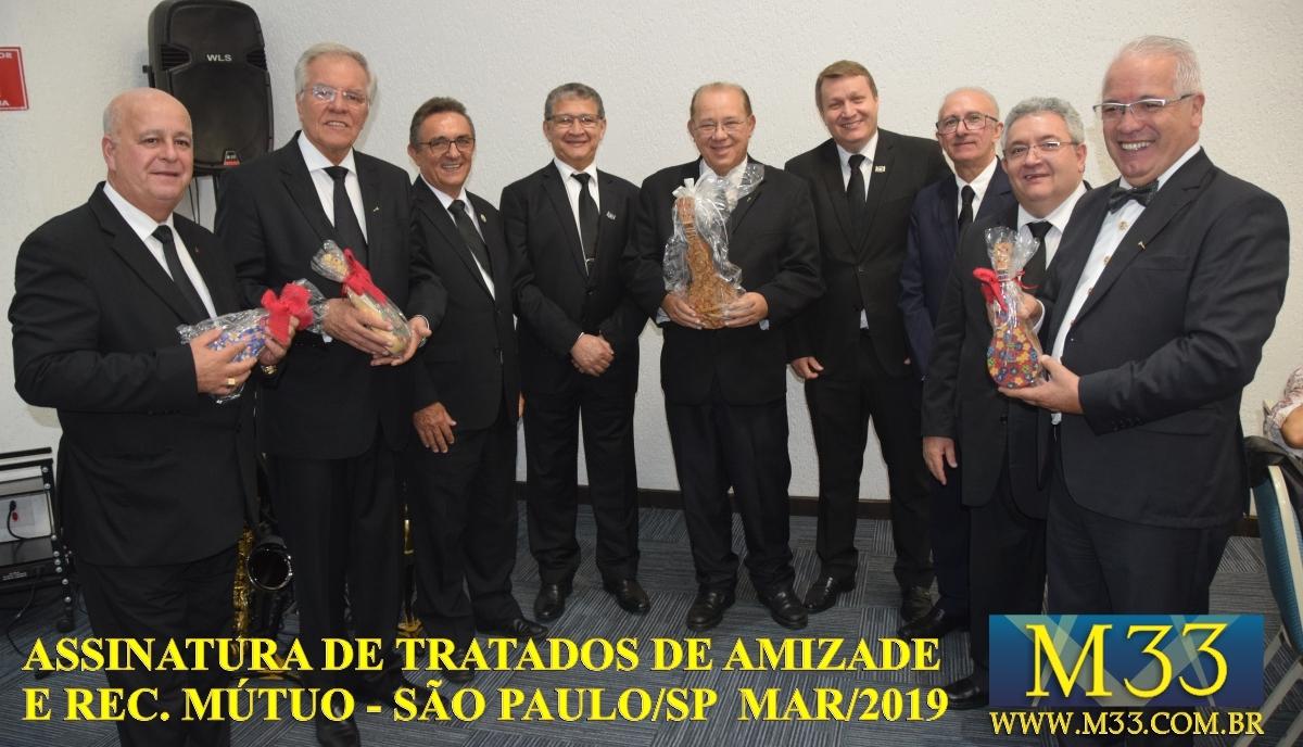 Assinatura de Tratados de Amizade e Reconhecimento Mútuo - São Paulo SP - Março 2019 Part 8