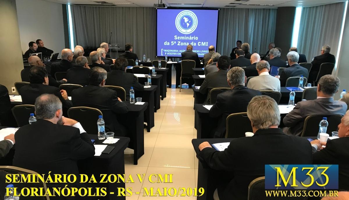 Seminário Zona V CMI - Florianópolis/SC Maio/2019 Parte 3