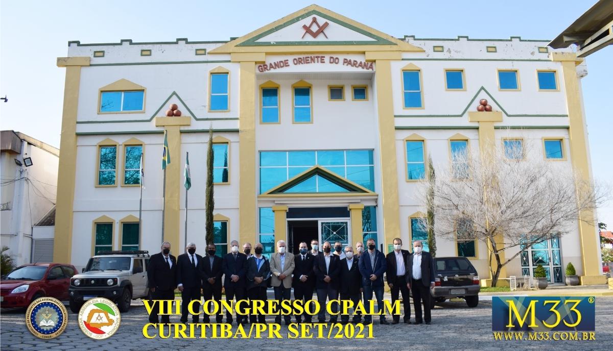 VIII CONGRESSO CPALM - CURITIBA/PR SET/2021 - PARTE 1
