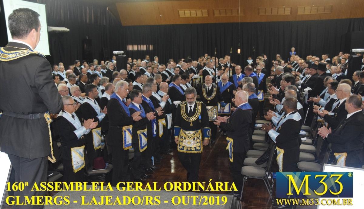 160ª ASSEMBLEIA GERAL ORDINÁRIA GLMERGS - LAJEADO/RS OUT/2019 PARTE 2