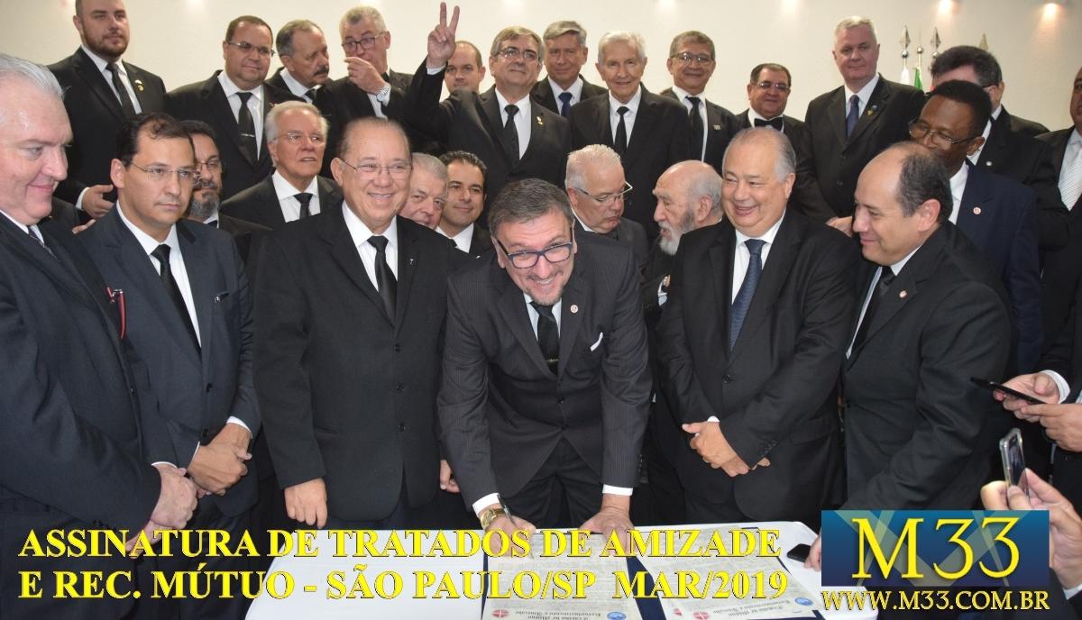 Assinatura de Tratados de Amizade e Reconhecimento Mútuo - São Paulo SP - Março 2019 Part 6