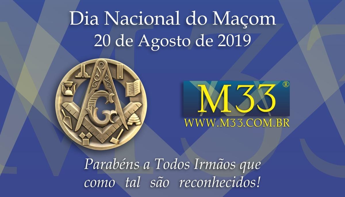 Dia Nacional do Maçom 2019