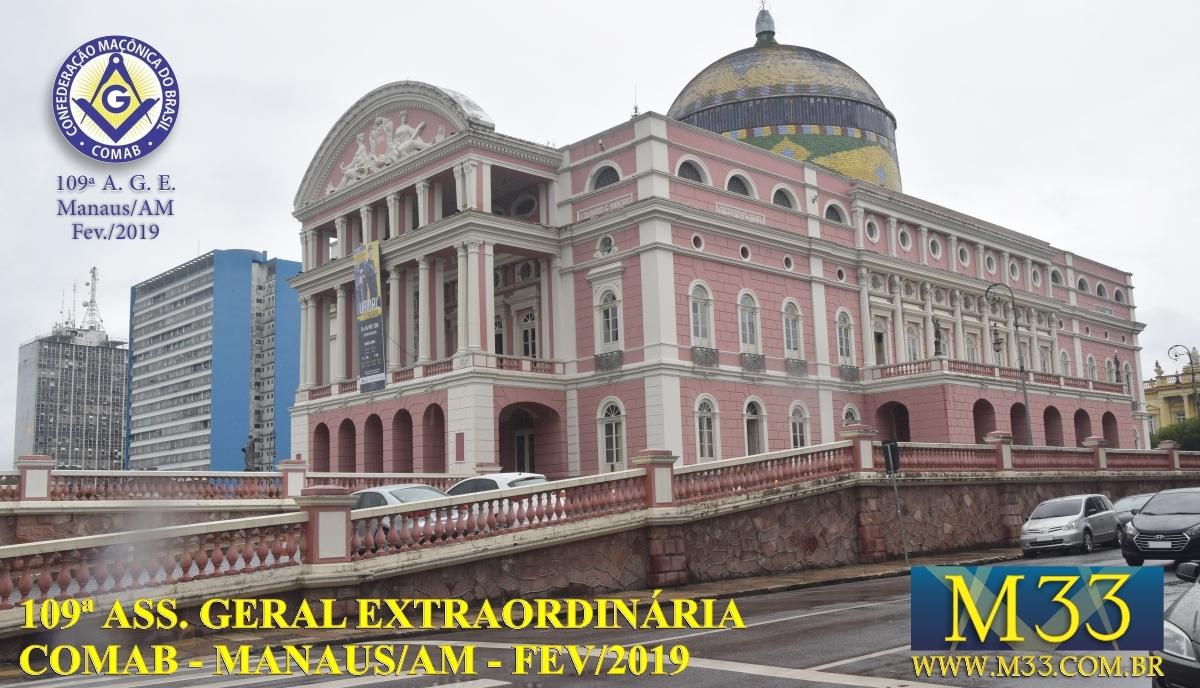 109ª Assembléia Geral Ordinária COMAB - Manaus/AM Fev/2019 Part1