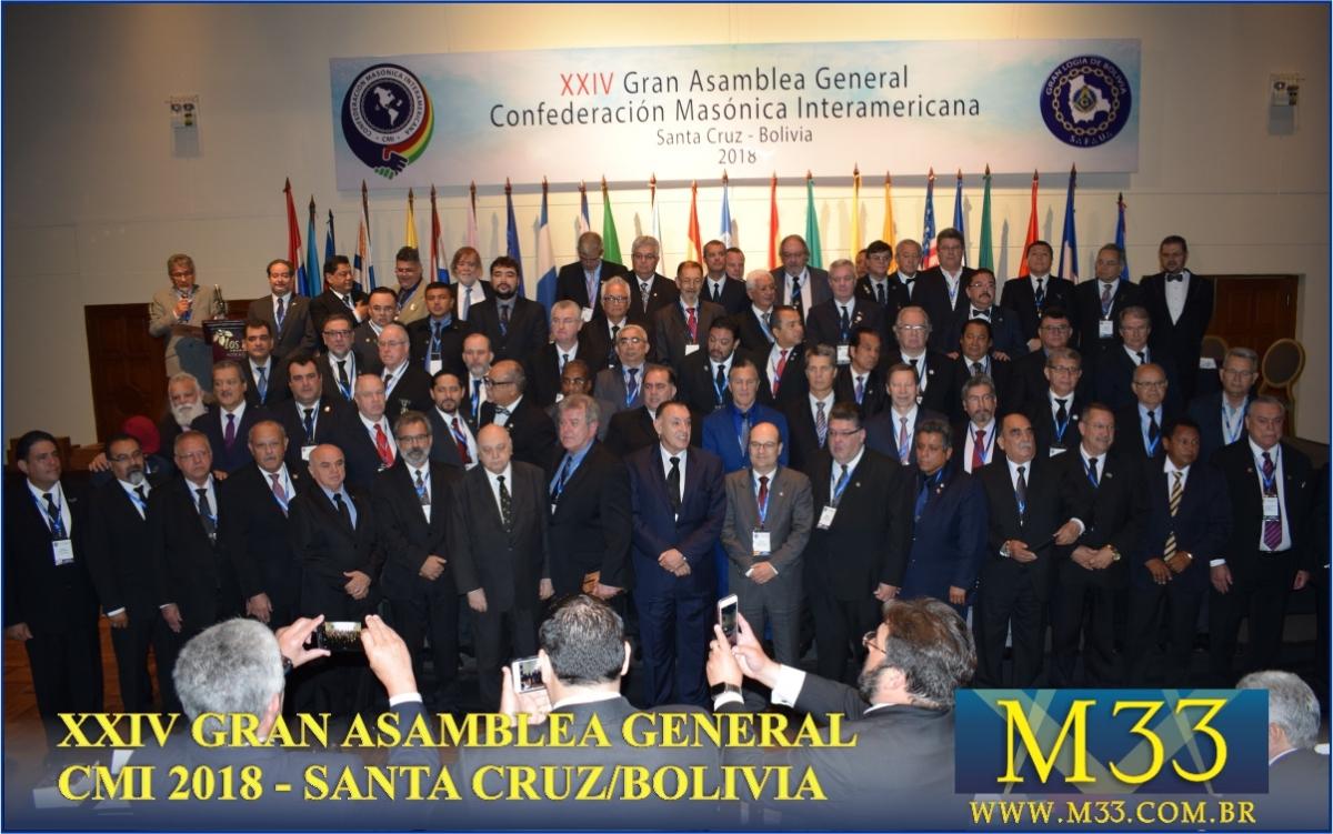 XXIV Gran Asamblea General - Santa Cruz - Bolivia Parte 10