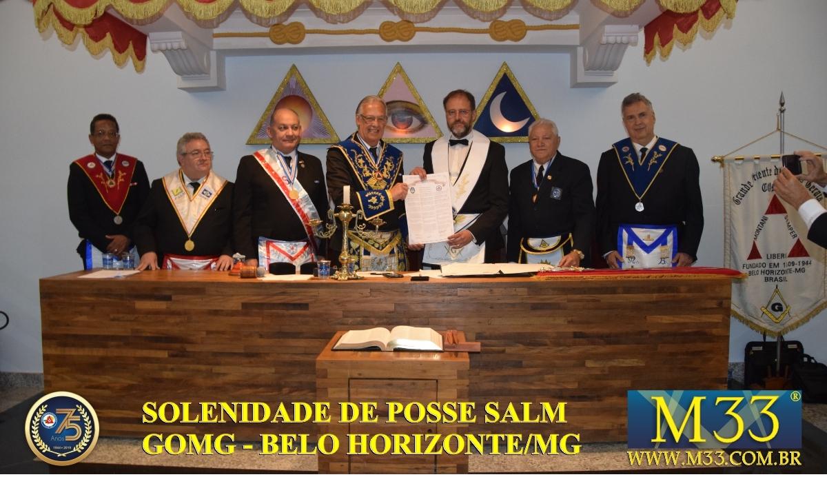 Solenidade de Posse da Soberana Assembléia Maçônica - SALM - GOMG - Belo Horizonte/MG - Set/2019 Parte 02