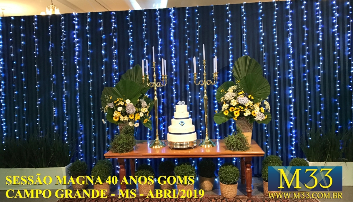 Sessão Magna 40 Anos do Grande Oriente de Mato Grosso do Sul - GOMS - abril/2019 - Campo Grande/MS - Parte 5