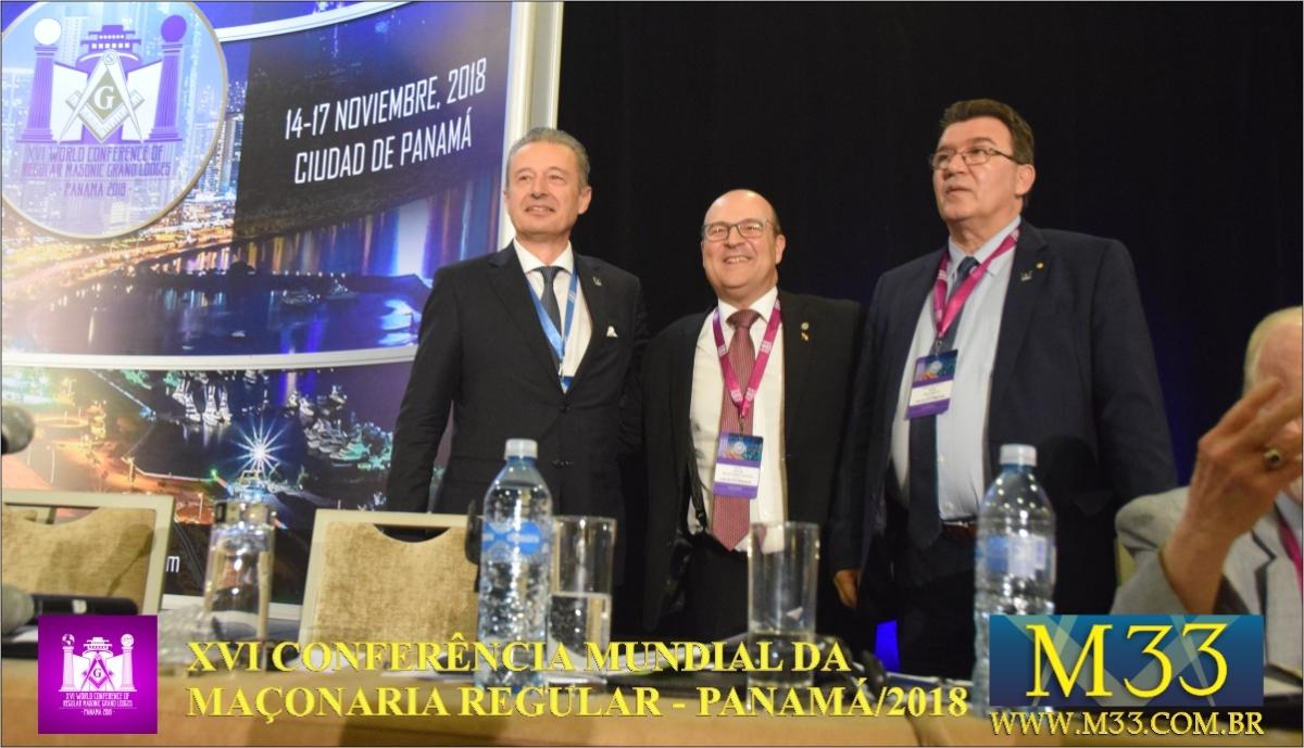 XVI Conferência Mundial da Maçonaria - Panamá 2018 16/11 Parte 07