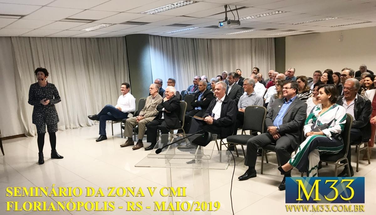 Seminário Zona V CMI - Florianópolis/SC Maio/2019 Parte 7
