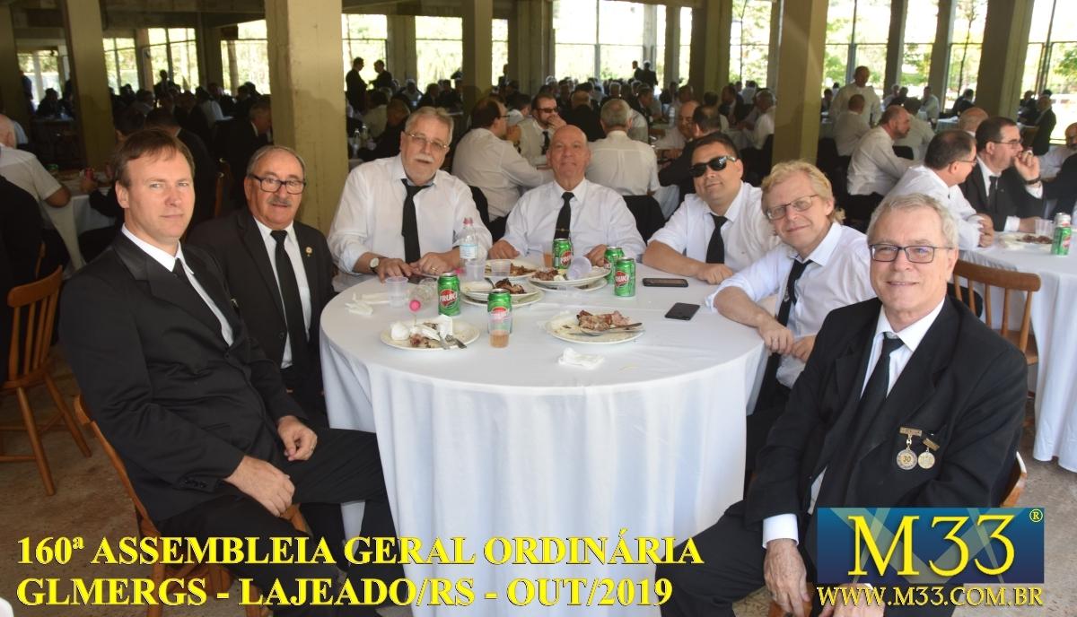 160ª ASSEMBLEIA GERAL ORDINÁRIA GLMERGS - LAJEADO/RS OUT/2019 PARTE 4